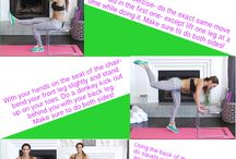 printable workout / by Shannon Le Fevre