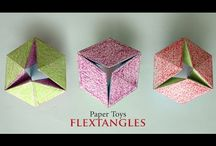 Flex tangles and paper crafts