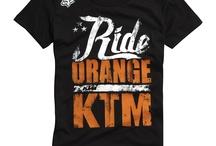 Ktm T-shirt logos