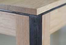 Angle iron tables