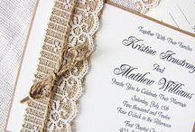 WEDDING INVITATIONS / by Monica Sors