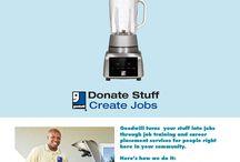 Donate Stuff. Create Jobs.