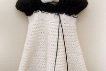 girl's crochet dresses - skirts 1y-13y