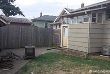 Transform Your Backyard: Portland Project Spotlight / Have drainage issues or an unappealing & unusable backyard? Check out these before & after photos for inspiration & get some helpful advice on solutions!