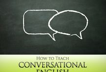 Conversational english teaching tools