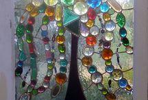 Glass & tiles &mosaic