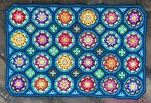 moon tile crochet