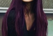 Colored Hair / Inspirations.
