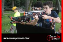 Laser Tag Extreme Birthday Parties / Kids laser tag birthday parties at home in the Pretoria, Midrand and Johannesburg areas