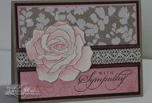 Stampin' Up - Sympathy Cards / Sympathy cards using Stampin' Up products