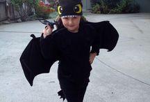 Toothless Dragon Costume Ideas / by Brenda Howard