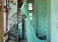 Seafoam Green / Seafoam Green is a beautiful colour and is huge this Spring 2012 / by Tatiana Swanson