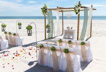 A Sunset Beach Wedding Package / Big Day Weddings, Beach Weddings, Sunset Beach Wedding Package, Wedding Packages, Alabama Beach Weddings, Gulf Coast Weddings, Orange Beach Alabama, Gulf Shores Alabama