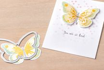 SU Watercolor Wings / 15 photopolymer stamps, coordinate with Bold Butterfly Framelits Dies and Butterfly Thinlits dies, 139424