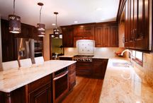 Kitchen Designs / We have top of the line designers here at Dillman and Upton that can bring whatever look you want to your home whether it be rustic or chic.