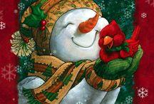 snowman stuff / by Helen Mazur