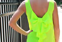 Neon obsessed ♥♥♥ / by Valerie Eureste
