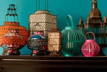Lanterns / Traditional Oriental Lanterns, perfect for interior design projects and home decor