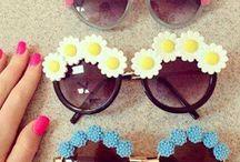 Flower glasses!