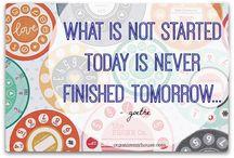 Motivators, Notes, Organisers, Quotes / Motivators, notes, organisers, passions and quotes