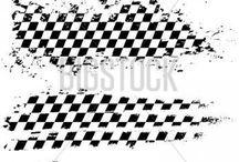 race tattoo