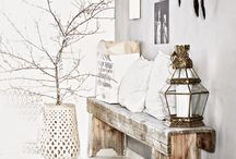 Boho Interior Ideas / Great ideas to transform your home space into