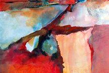 ART Collage abstrait