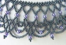 Wedding bead necklace