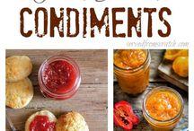 Condiments Recipes