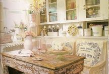 love shabby chic - but my husband just doesn't get it... / by Karen DeCapite