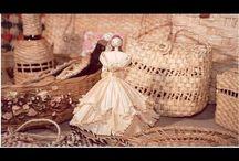bonecas de palha