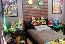 Robert TMNT Room Ideas