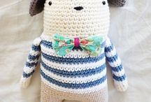 Crochet amigurumi, ragdoll
