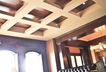 Coffered Ceilings / Interesting ceiling details
