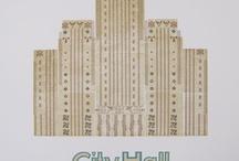 Letterpress posters by Richard Kegler / by P22 Type Foundry