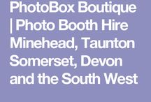 """Photobox Boutique photo booth Hire Somerset / Photo booth hire for any occasion. Free standing unit or introducing """"phoebe"""" the photo booth! A 1974 Thompson glen 2 renovated to become a cool, unique photo booth :) Company based in Somerset UK. Follow me on Facebook or link into my website for more details :)"""