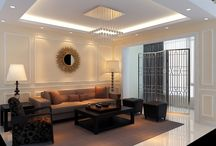 false ceiling living hall