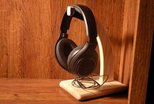 Headphones DIY ideas / Its about organising Headphones