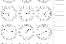 English Telling Time