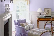 Lavender & Olive / Pics of lavender and olive prints and objects