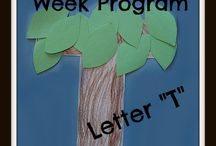 Letter T / by Ofelia Llacsahuache
