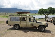 Tanzania - Your Transportation / See your vehicle in action on safari in Tanzania. This vehicle only operates on Tanzania safaris.