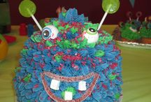 Zayden 1st birthday monster party / Monster party!