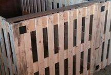 Barn Stalls made of Pallets