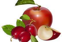 Gyümölcsök - Fruits