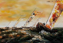 Seascapes / Oil Paintings of the beautiful oceans