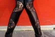 Lace Leggings / Lace leggings