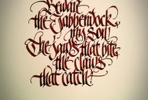 Calligraphy: Gothic