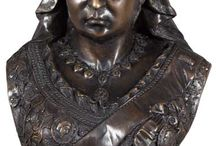 Desk Top Bronze Sculptures / Beautiful hot cast bronze sculptures just the right size for decorating with!