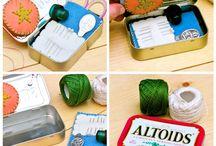 Altoid Tin Reuse/Recycle / by Sylvia Munson